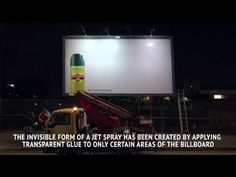 The Insect Trapping Billboard - http://www.creativeguerrillamarketing.com/guerrilla-marketing/the-insect-trapping-billboard/