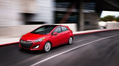2013 ELANTRA GT IN VOLCANIC RED