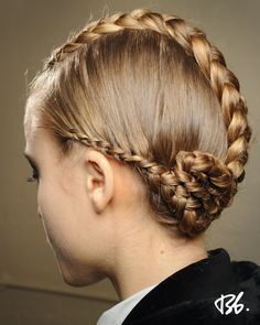 Fall/Winter Fashion Week. Hair by Bb. Stylist James Pecis. -pin it from carden