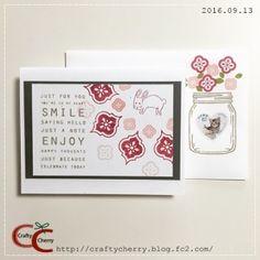 Crafty Cherry * stamp 3 / Jar Of Love Photopolymer Bundle(スタンピン・アップ)