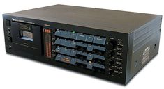 Nakamichi Dragon Cassette Deck -Really what more is there to say.... It's the Dragon. The most technically advanced cassette deck ever made. I sold lots of them in their day even though they were over $3,000 back in the 80's. I never owned one because I got a great deal on 681ZX with rack mount handles. It looked great in my rack next to my Bryston amp.