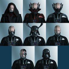 Darth Vader concepts Brainstorm Challenge 17 by on DeviantArt Star Wars Trivia, Star Wars Facts, Star Wars Humor, Star Wars Fan Art, Star Wars Concept Art, Star Wars Helmet, Star Wars Sith, Darth Vader, Maquette Star Wars