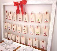 Desire Empire: Make an Easy Christmas Advent Calendar