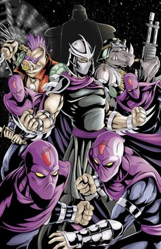 TMNT- Shredder and the Foot by WiL-Woods on DeviantArt