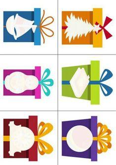 Christmas Activities For Kids, Preschool Christmas, Christmas Baby, Christmas Themes, Christmas Crafts, Kindergarten Math Worksheets, Preschool Activities, Advent, New Year Printables
