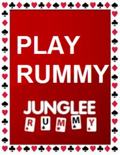 PLAY #RUMMY ONLINE IN INDIA AT JUNGLEERUMMY.COM!