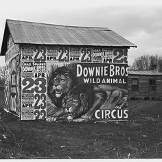 Circus Poster #Walker Evans (1936)
