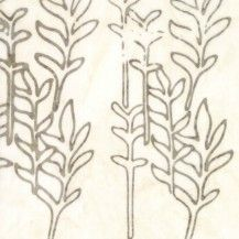 Grey watercolor plant leaves on a stem on a cream fabric. This batik fabric is wide, cotton. Watercolor Plants, Watercolor Design, Cushion Fabric, Sewing Notions, Sewing Projects, Clouds, Quilts, Sunday, Handmade Gifts