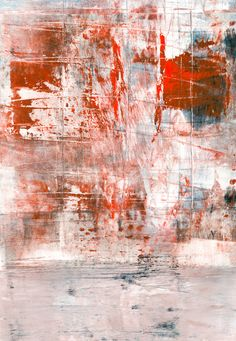 MT I by Iris Lehnhardt #abstract #painting #monotype #red
