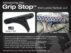 Lanco Tactical – Grip Stop Mod2, find all about it at http://www.operator7airsoft.com/?p=4142