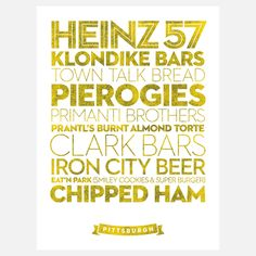 Pittsburgh!  My father always had Klondike bars in the freezer and mom almost had a heart attack when we moved to Jersey and she couldn't get chipped ham!