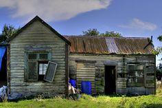 Old house, Milton, Otago, New Zealand