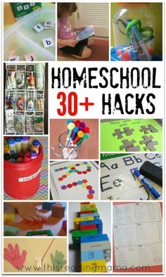 30+ Homeschool Hacks to Save You Time, Money, and Energy | This Reading Mama