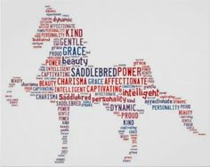 All of these words represent the majestic Saddlebred horses. # saddlebred horses