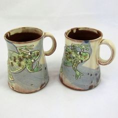 Mary Johnson - Frog Mugs