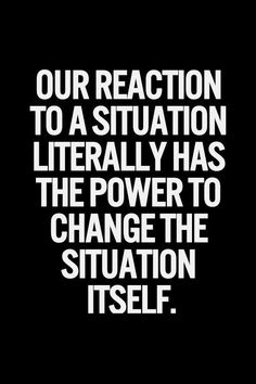 your reaction is an action. be careful.
