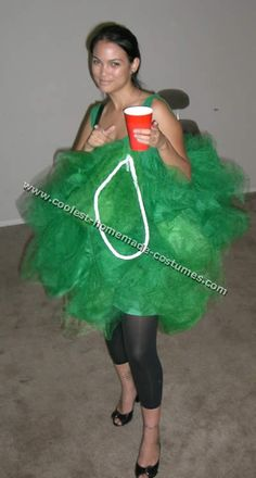 Homemade Halloween Costumes For Adults | Coolest Ideas for Quick Halloween Costumes - Become a Loofah!