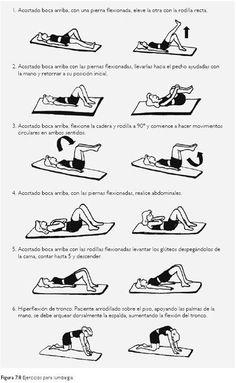 No volem que pateixis de les lumbars!!! I per això avui, per acabar la setmana, compartim uns exercicis molt fàcils de fer i que t'ajudaran a sentir-te millor. Pren nota!!!