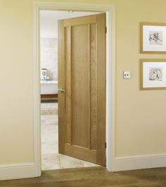 Worcester Oak door