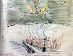 The Death of Smaug by Tolkien
