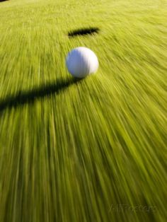Golf Tips Photographic Print: Ball Trundling on a Golf Green Poster : - Best Golf Clubs, Best Golf Courses, Golf 7 R, Golf Ball Crafts, Golf Green, Golf Photography, Golf Tips For Beginners, Golf Exercises, Exercises