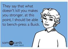 I know some folks who could probably bench press TWO Buicks!