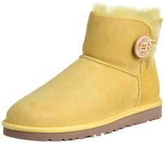 UGG Women's Mini Bailey Button Boot * A special product just for you. Ugg Boots Sale, Ugg Boots Cheap, Knit Boots, Bootie Boots, Shoe Boots, Mini Baileys, Ugg Classic Short, Sheepskin Boots, Winter Shoes