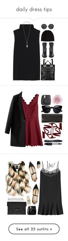 """daily dress tips"" by mengying ❤ liked on Polyvore featuring Balenciaga, Bottega Veneta, The Row, Isabel Marant, Miu Miu, Fall, polyvoreeditorial, polyvorecontest, sleevelesssweater and RED Valentino"