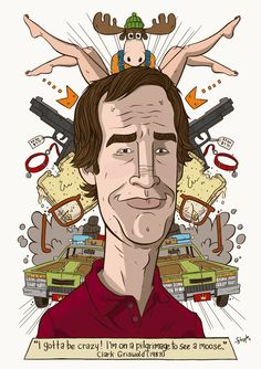 Clark Griswold - National Lampoon's Vacation - James Stayte