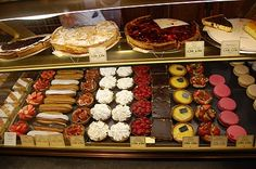 Patisseries at a PAUL bakery in Paris, a classic. So delicious!