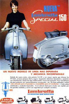 Lambretta ad (1965)