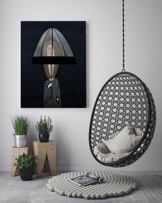 Top #interiordesign #homedecor ideas from the best interior designers. Add a touch of Vintage beauty to your #interiors with #hanging #chairs, Kilims & rugs made from finest material All sizes & colors are available .The perfect artistic niche that you require is ready visit  #Wish #Ebay #Ricardo #Swiss #Amazon #Mercadolibre #Argentina #Mexico Frame Store, Wall Decor, Room Decor, All Wall, Digital Illustration, Rain Illustration, Canvas Frame, Decoration, Modern Interior