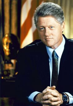 "President William ""Bill"" Jefferson Clinton, 42nd President of the U.S., 1993-2001."