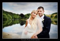 The stunning Mr & Mrs Galvin! Wedding date 25th July 2015 at Waterton Park Hotel