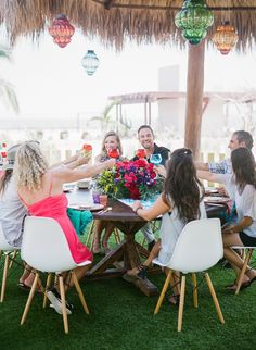 Mexican themed party for your welcome dinner.  Photo by Jeremy Chou.
