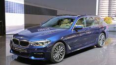 Автофория: 2017 BMW 5 Series Touring в Женеве