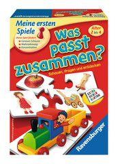Was passt zusammen? Spiele;Kinderspiele Ravensburger Ravensburger Puzzle, Snack Recipes, Snacks, Memory Games, International Trade, Pop Tarts, Cereal, Packaging, Ebay