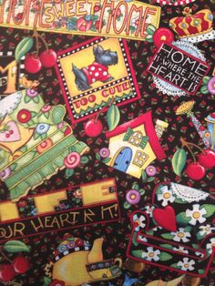 Country fabric in cotton by 2Heartsstudio on Etsy, $6.00