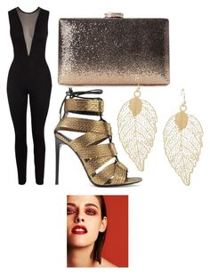 """""""Night out with the girls"""" by lulu654 ❤ liked on Polyvore featuring Tom Ford and Chanel"""