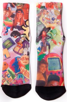 90s Socks: http://shop.nylonmag.com/collections/whats-new/products/90s-socks #NYLONshop