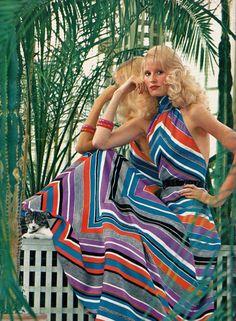 Lanvin, Elegance Magazine - 1972 Spring/Summer, Photographed by Helmut Newton