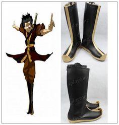 High quality Handmade Avatar The Last Airbender Zuko Cosplay Boots on Etsy, $58.68
