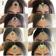 New bridal headpiece chain love 19 Ideas Indian Head Jewelry, Tikka Jewelry, Indian Jewelry Earrings, Headpiece Jewelry, Jewelry Design Earrings, Silver Jewellery Indian, Indian Wedding Jewelry, Jewelery, Bridal Jewellery