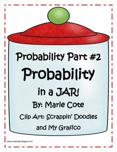 My first PROBABILITY pack (Spinning your way through!) has been such a success and Ive had requests for more probability activities. Have Fun Teaching, Teaching Math, Maths, Teaching Resources, First Grade Math, Grade 1, Second Grade, Math Games, Math Activities