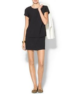 little black dress - Piperlime Collection Layered Shift Dress | Piperlime