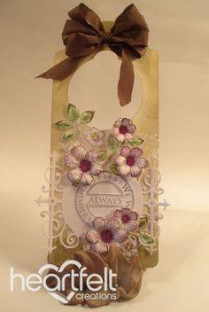 Heartfelt Creations | Remember Always Door Hanger