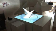 Rotated Projection Mapping System by Grosse 8. We developed a prototype which combines Projection Mapping and Rotation.