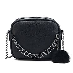 Evening Bag with Chain and Fur //Price: $14.95 & FREE Shipping //     #hashtag2