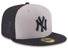 New York Yankees MLB 2016 Diamond Era 59FIFTY Training Cap Hats