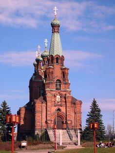 Ortodoksikirkko, ostarimme naapuri. :) #Koskikeskus #Tampere Finland